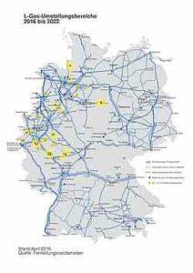 H-Gasumstellung 2016-2022